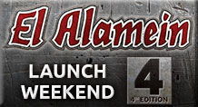 El Alamein Launch Weekend