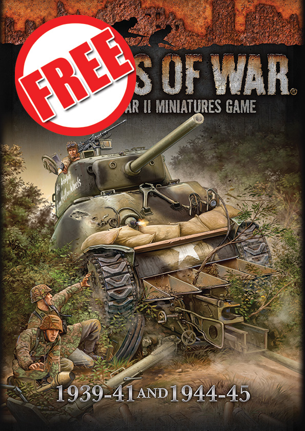 Flames Of War, 1939-41 and 1944-45 rulebook