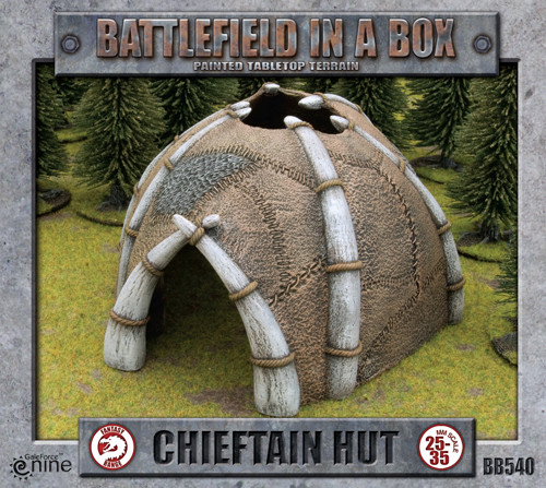 Battlefield in a Box: Chieftan Hut (BB540)