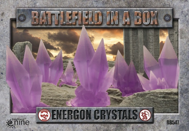 Battlefield in a Box: Energon Crystals (Purple)
