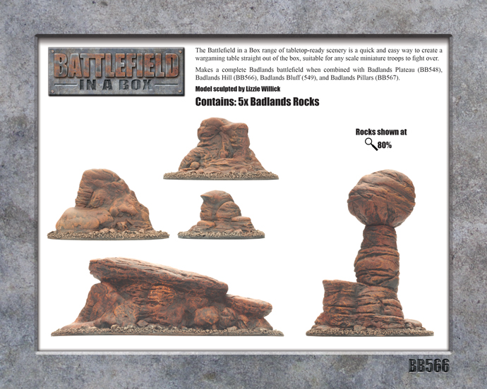 Badlands Tors (BB566)
