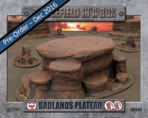 Badlands: Plateau (BB548)