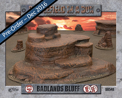Badlands: Bluff (BB549)