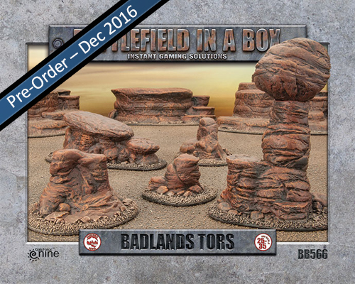 Badlands: Tors (BB566)