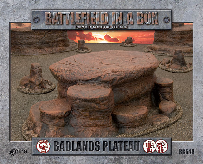 Battlefield in a Box - Badlands Plateau (BB548)