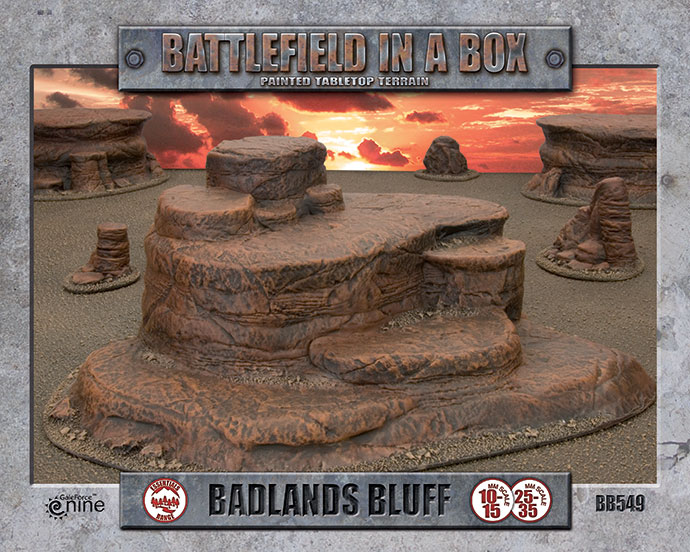 Battlefield in a Box - Badlands Bluff (BB549)