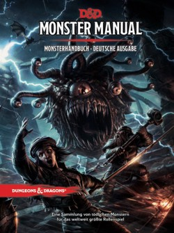 Dungeons & Dragons: Monster Manual - German Edition