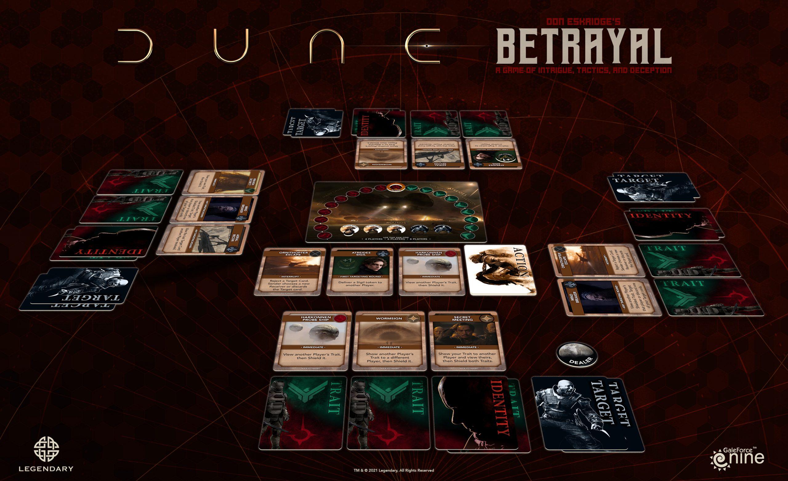 Dune Betrayal Components