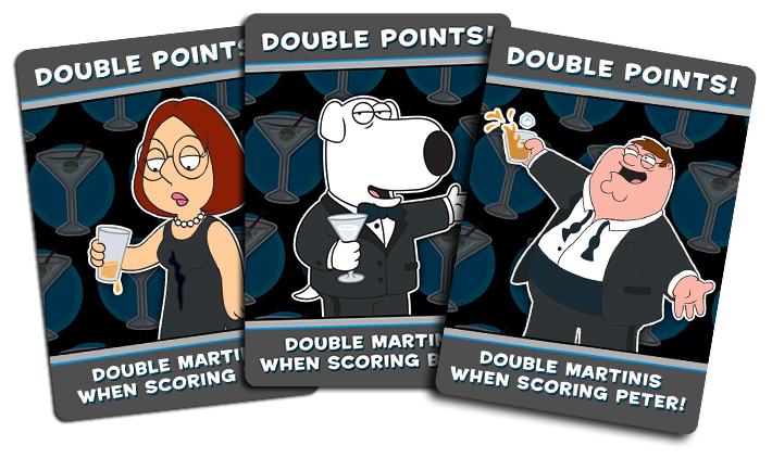 DP (Double Points) Cards