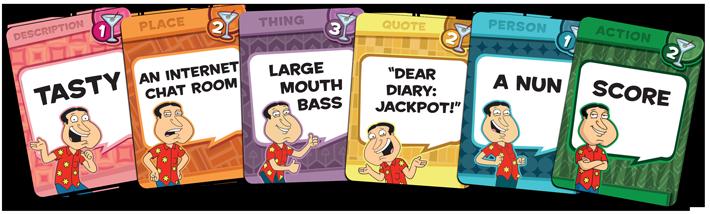 Quagmire Word Cards