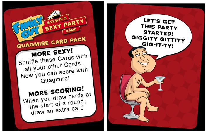 Quagmire Rules Cards