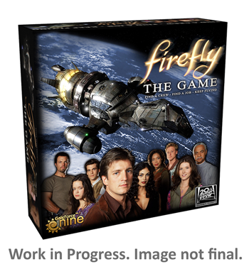 GF9's Firefly: The Game Box Art (Concept Image)