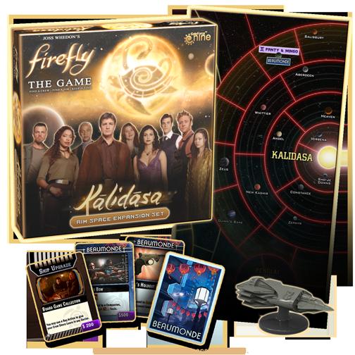Firefly: Kalidasa -  Gale Force 9