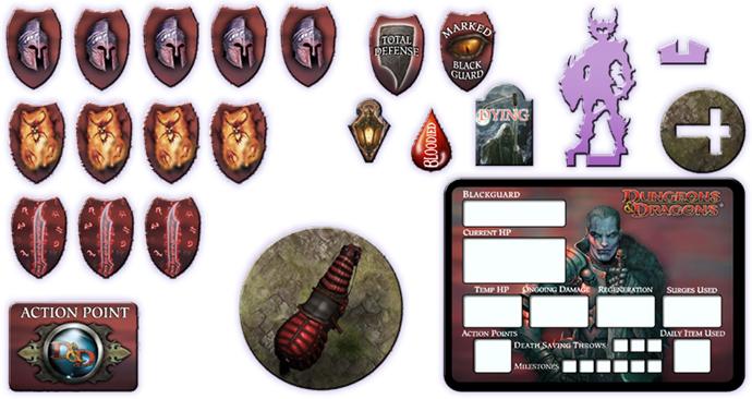 Blackguard Token Set (72730)