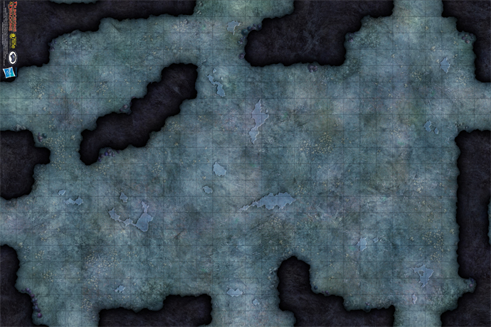 "Caverns of the Underdark Vinyl Game Mat 20"" x 30"" (72801)"