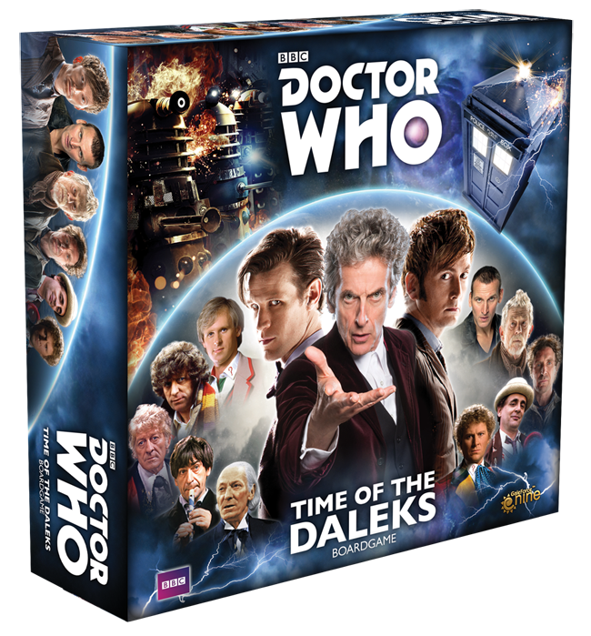 Doctor Who: Time of the Daleks Box