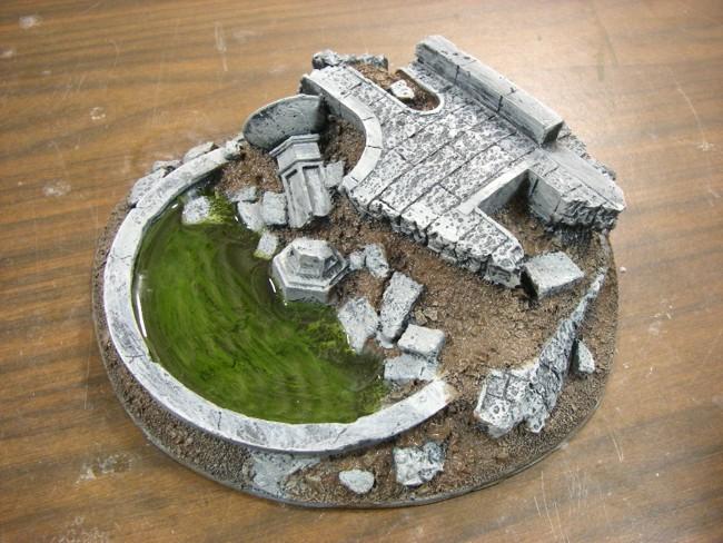 Frozen Fountain - Muddy Grit