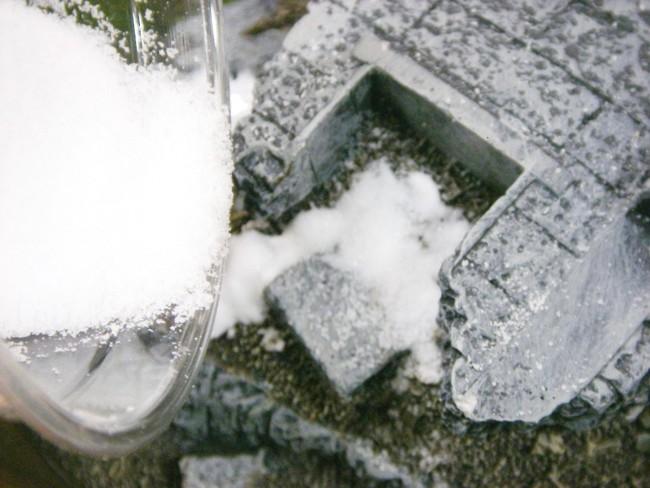 Frozen Fountain - Let it Snow!