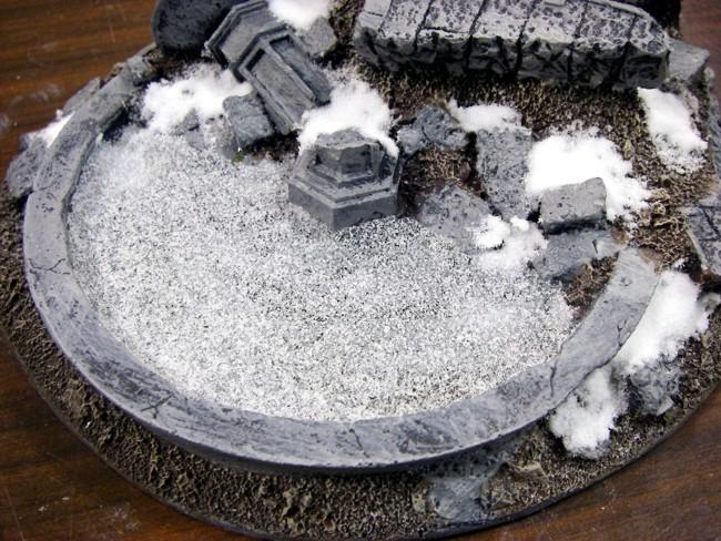Frozen Fountain - Frozen