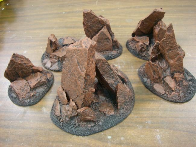Martian Rocks 04