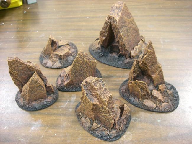 Martian Rocks 07