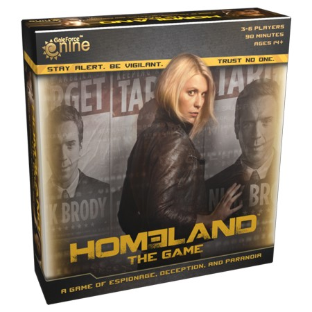 Homeland: The Game Box