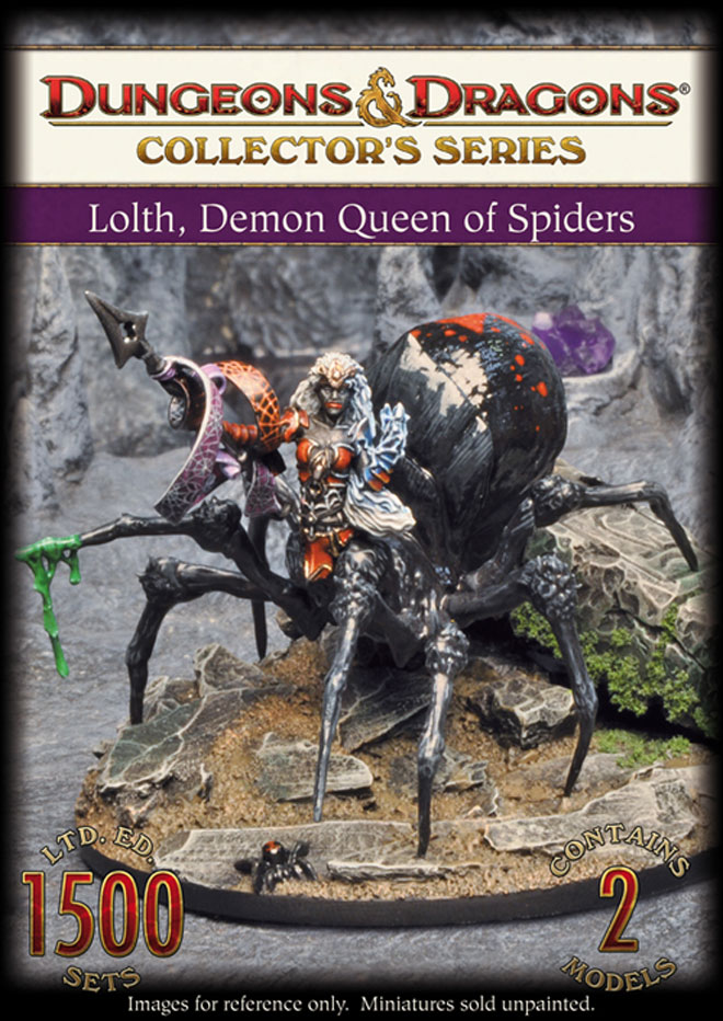 Lolth, Demon Queen of Spiders (71003)