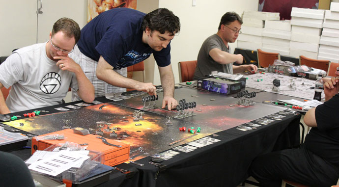 Space Game Mat
