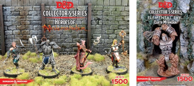 D&D Collector's Series - Heroes of Neverwinter & Elemental Evil Earth Myrmidon