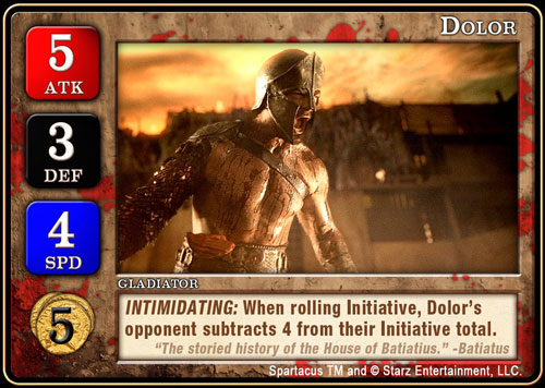The Dolor Card