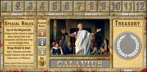 The House Calavius Card