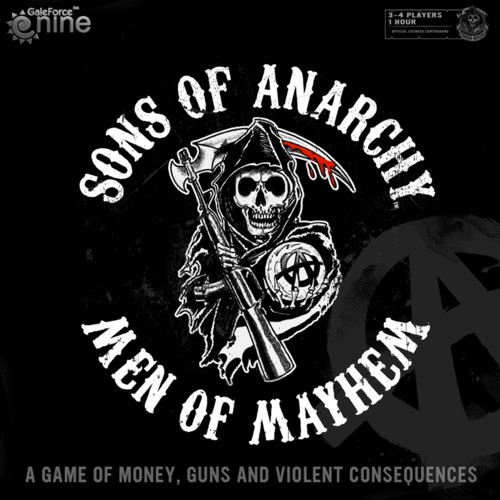 Sons of Anarchy: Men of Mayhem - Box Cover