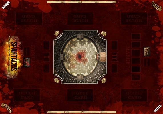 """Spartacus """"Primus"""" Edition Game Mat"""