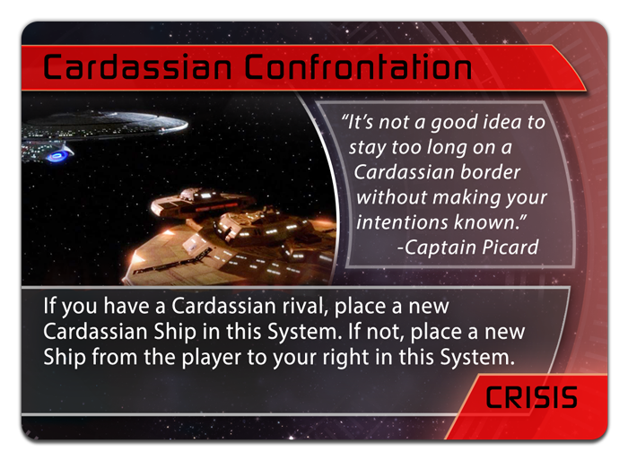 Cardassian 'Confrontation' Crisis