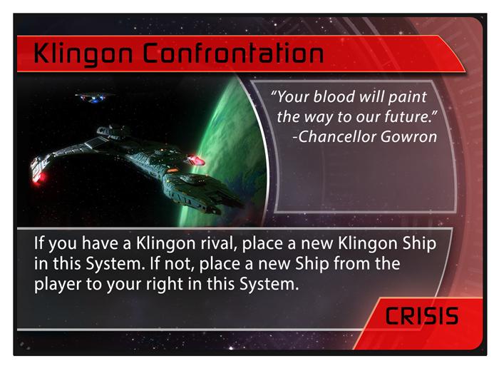 Klingon 'Confrontation' Crisis