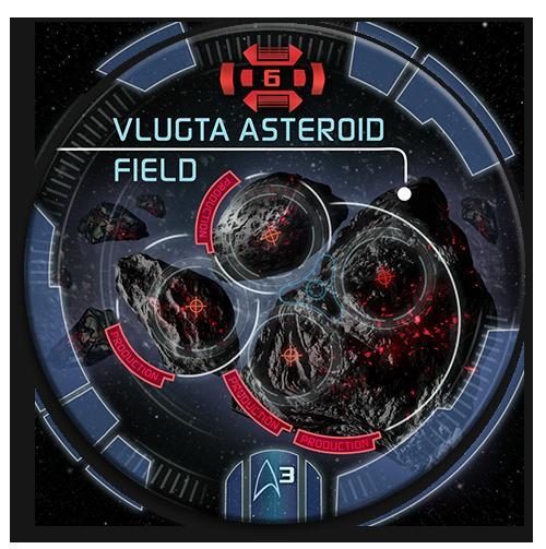 Vlugta Asteroid Field