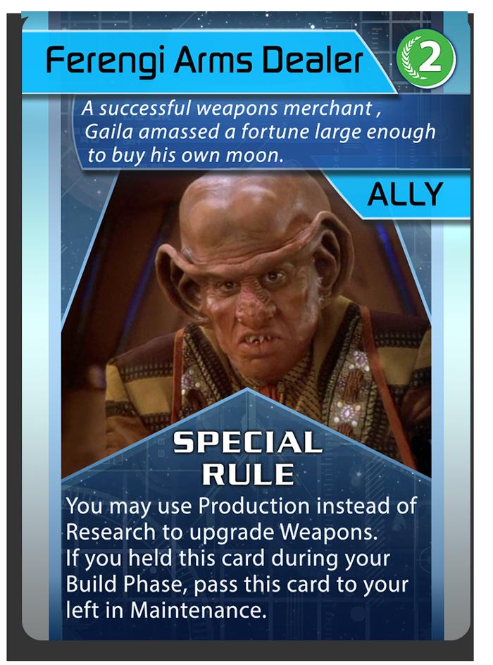 Ally - Ferengi Arms Dealer