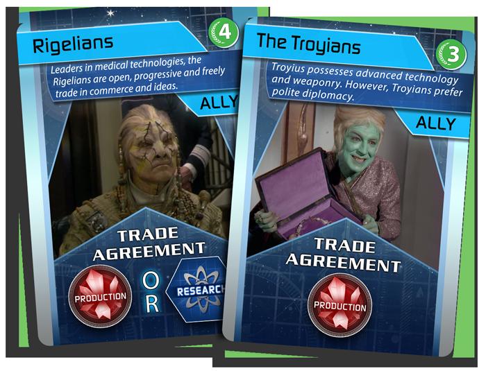 Allies - Rigelians & The Troyians