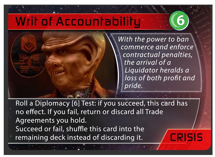 Crisis - Writ of Accountability