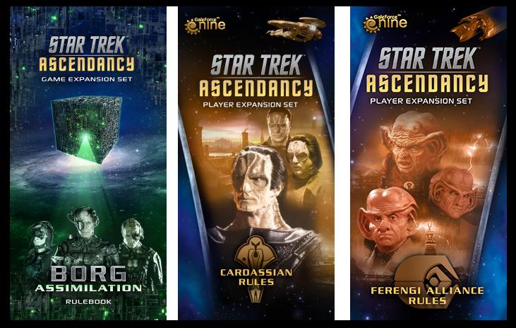 Star Trek: Ascendancy Expansions