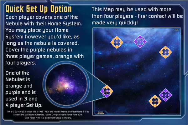 Star Trek: Ascendancy - Play Mat Instructions