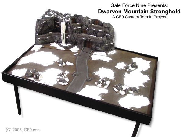Dwarven Mountain Stronghold