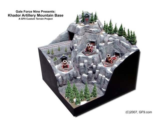 Khador Artillery Mountain Base