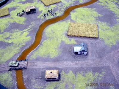 Russian Farming Village in 15mm