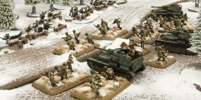 Casey's Soviet Infantry and T-34s
