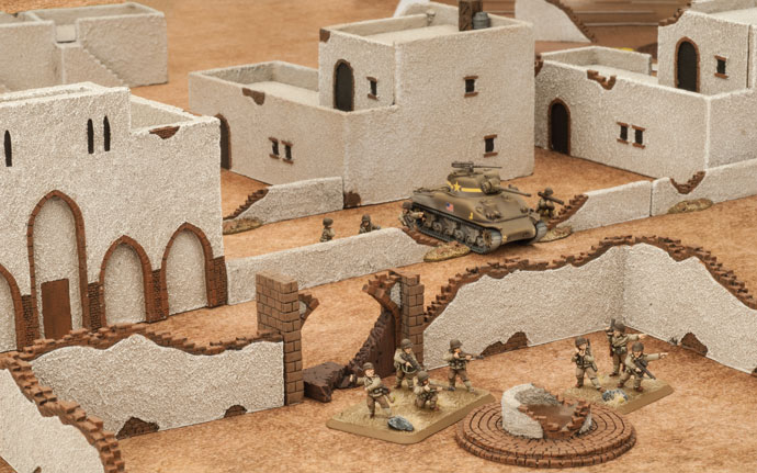 Building a North African Battlefield