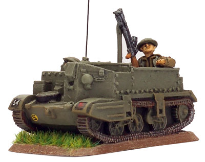 MG Commander's Universal Carrier