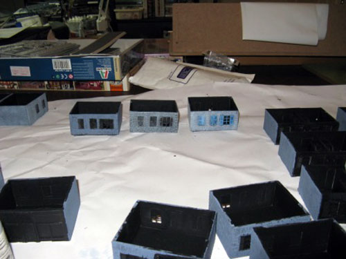 Buildings In Various Stages