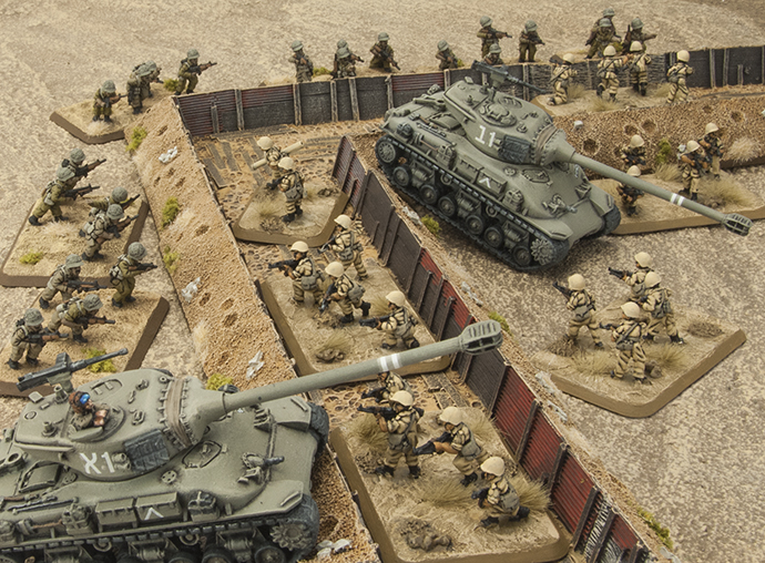 Israeli troops invade the Sinai