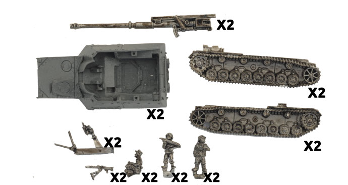 Hornisse Tank-hunter Platoon (GBX130)